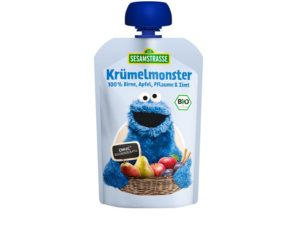 SESAMSTRASSE COOKIE MONSTER SKVÍSA - heilsuval.is